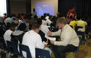 Students receive debate training at DKC workshop