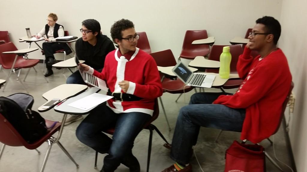 Santa debaters