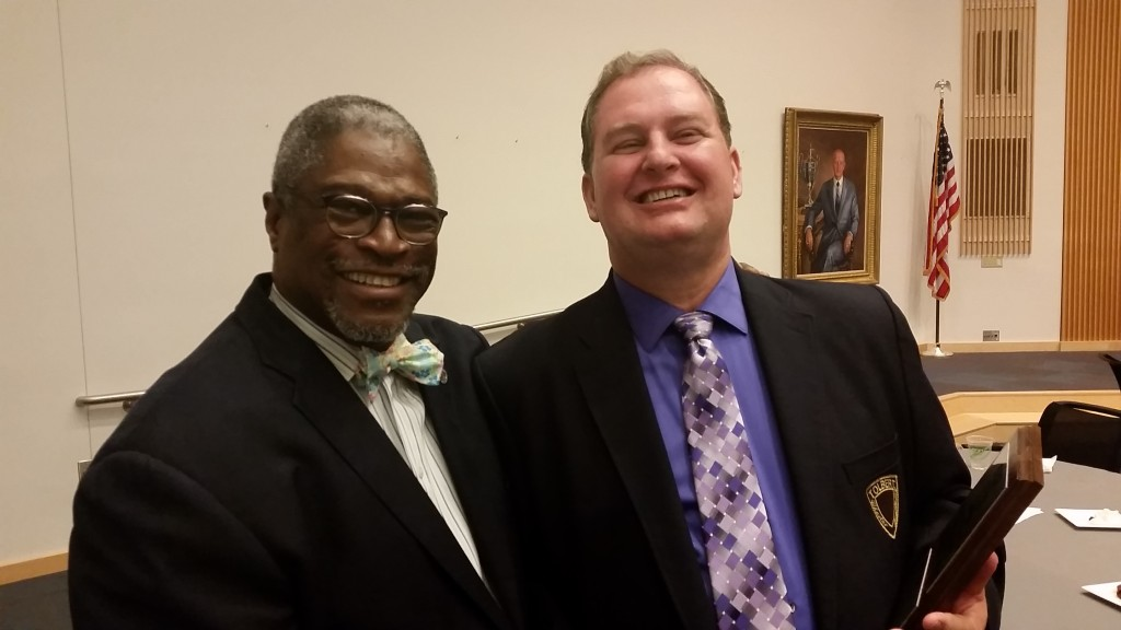 Mayor James and Bill Lindsey
